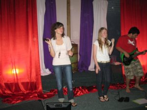The Worship Team in Action