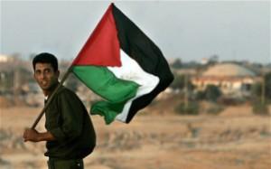 A Palestinian man