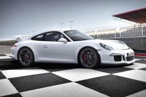 A 2014 Porsche 911 GT3