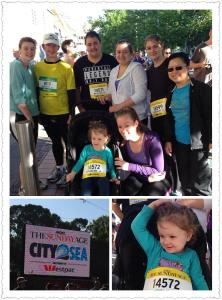 Ben and his session mates doing the 2013 City2Sea