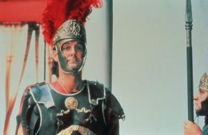 This is an accurate photo of a Roman centurion, right?