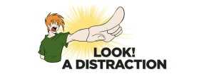 look-distraction